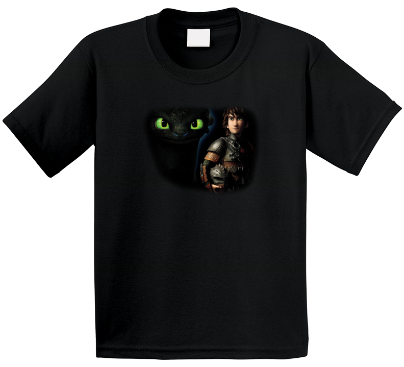 Toothless And Hiccup How To Train Your Dragon T Shirt