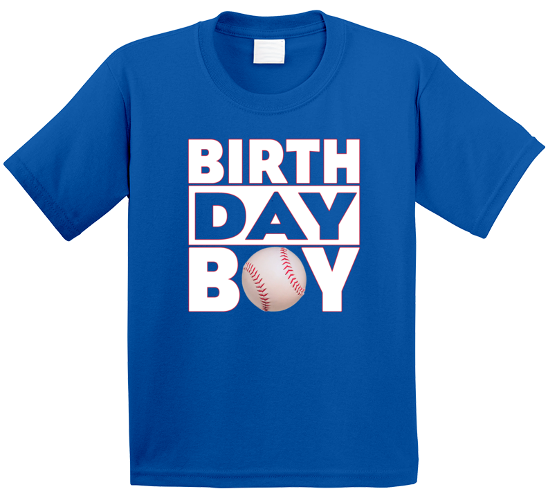 Baseball Birthday Boy T Shirt