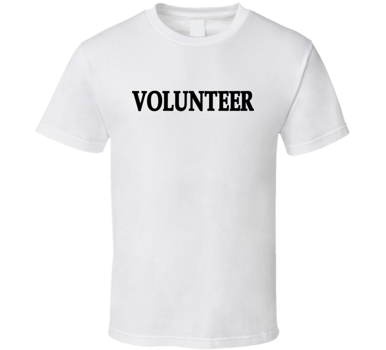 Crop For Cancer Volunteer T Shirt