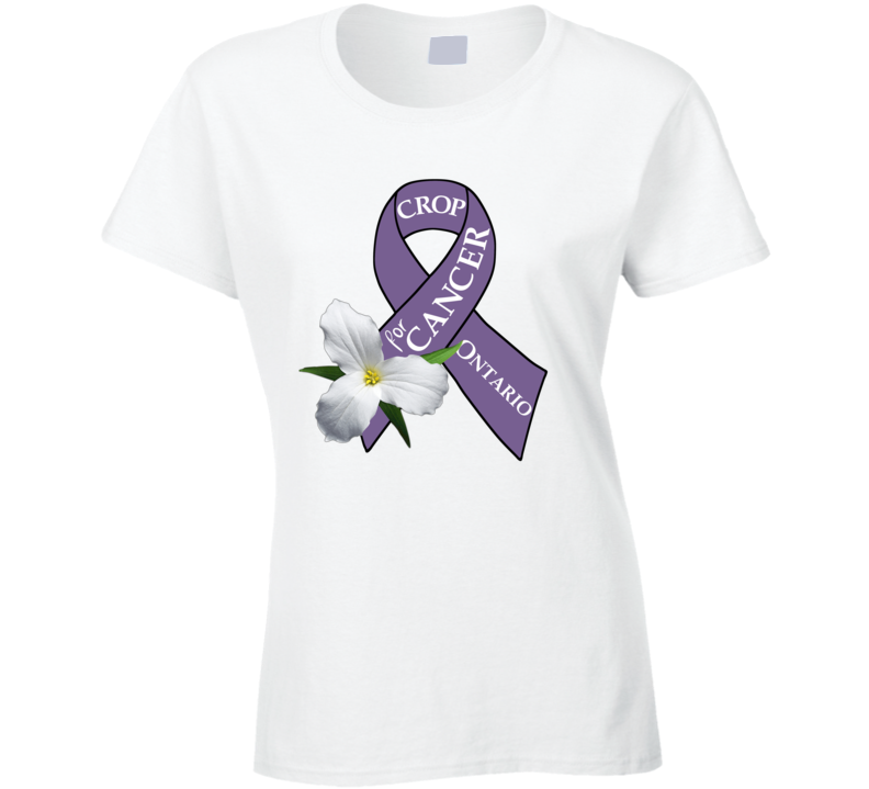 Crop For Cancer (no Name) T Shirt