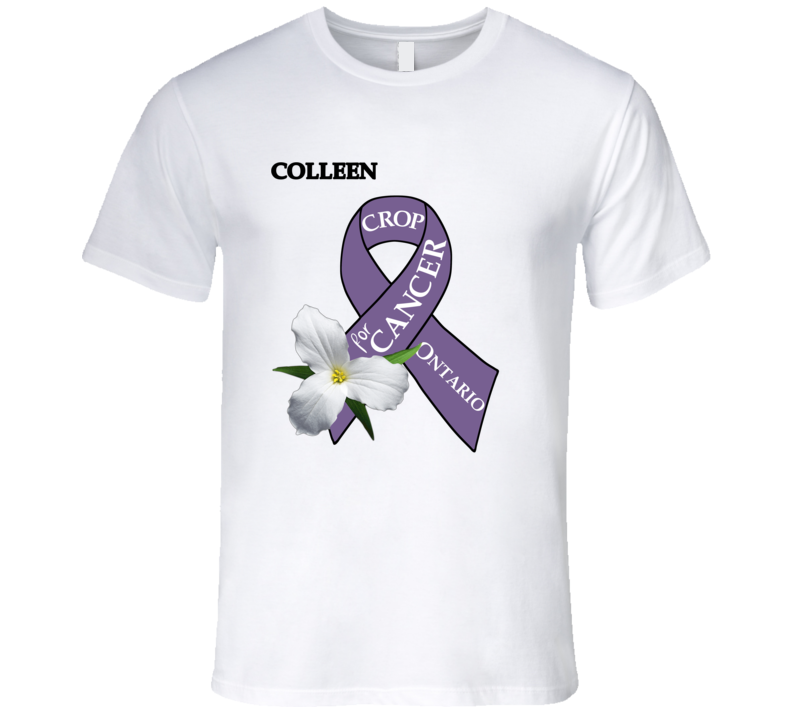 Crop For Cancer - Colleen T Shirt