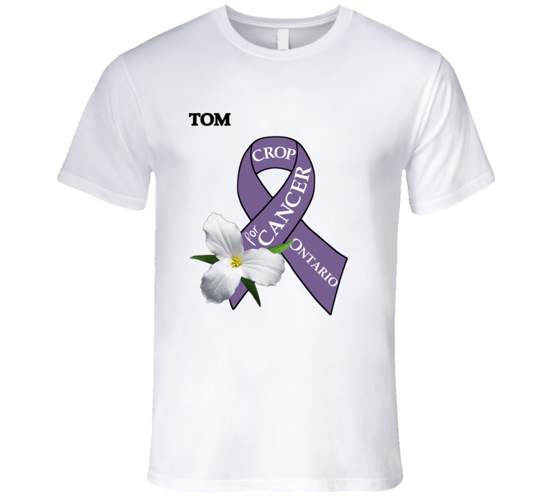 Crop For Cancer - Tom T Shirt