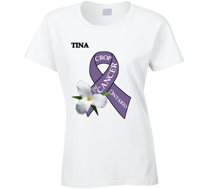 Crop For Cancer - Tina T Shirt