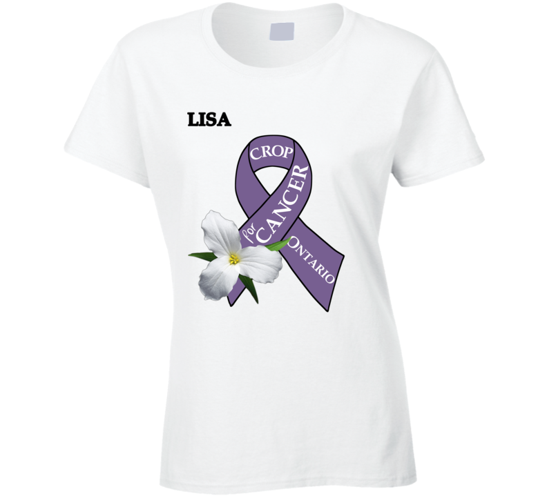Crop For Cancer - Lisa T Shirt