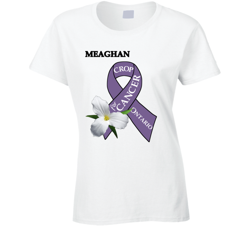 Crop For Cancer - Meaghan T Shirt