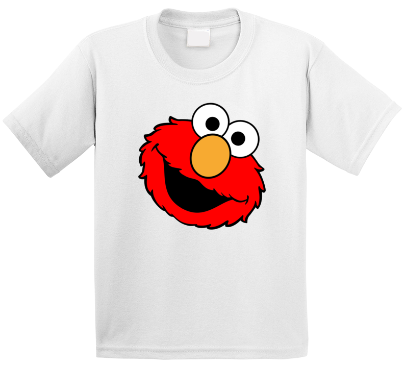 Elmo's Face Sesame Street Character T Shirt