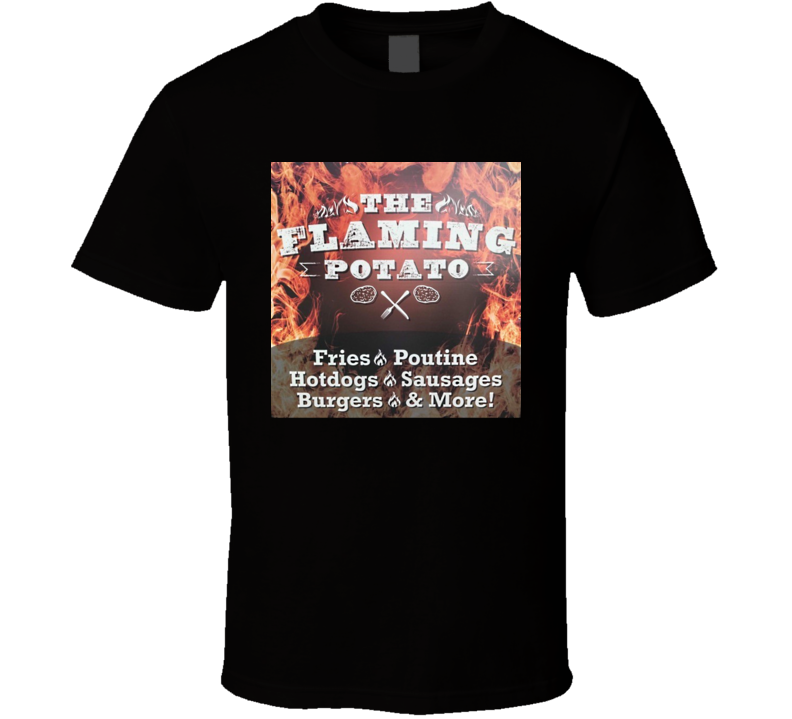 The Flaming Potato T Shirt