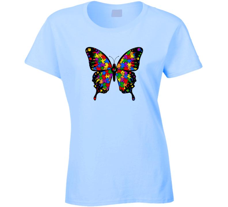 Autism Awareness Butterfly T Shirt