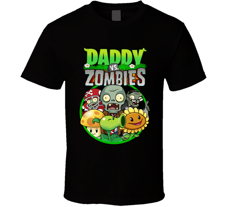 Plants Vs Zombies Family Birthday Party Daddy T Shirt