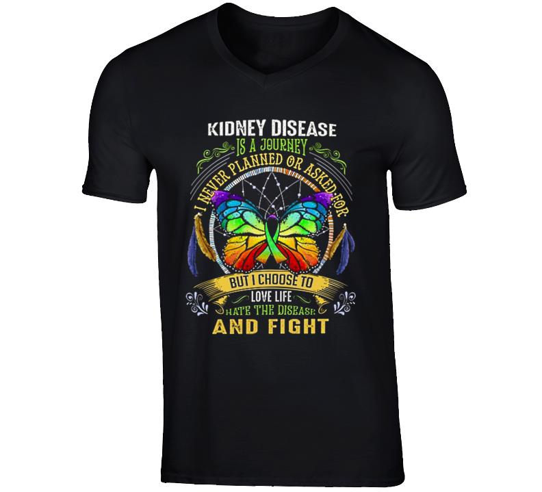 Kidney Disease Fighter T Shirt