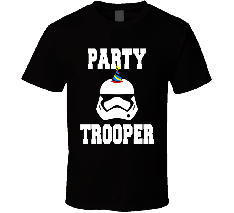 Star Wars Inspired Party Trooper T Shirt
