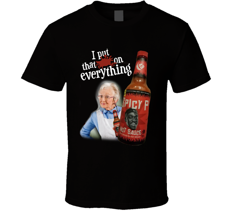 Spicy P Sauce Funny Parody T Shirt