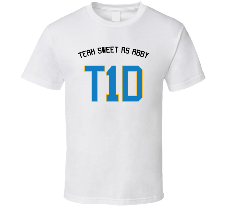 Team Sweet As Abby T1d T Shirt