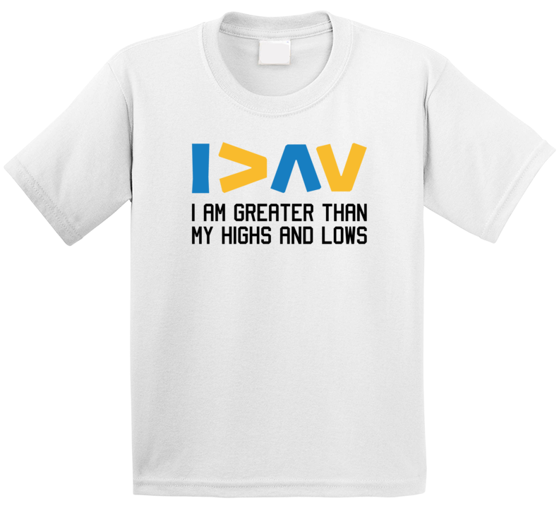 Diabetes Awareness - I Am Greater Than My Highs And Lows T Shirt