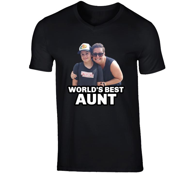 World's Best Aunt T Shirt