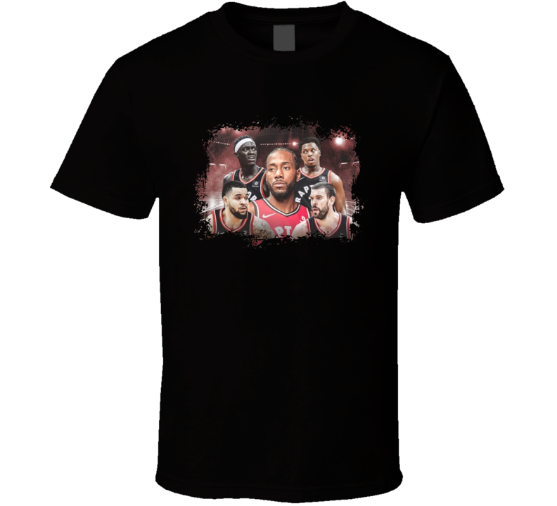 Raptors In The North T Shirt