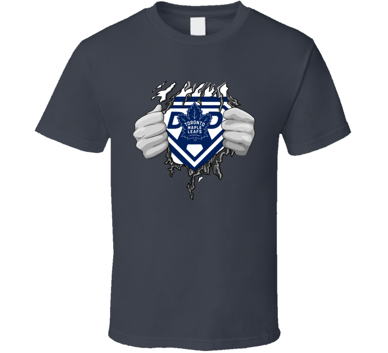 Super Hockey Dad T Shirt