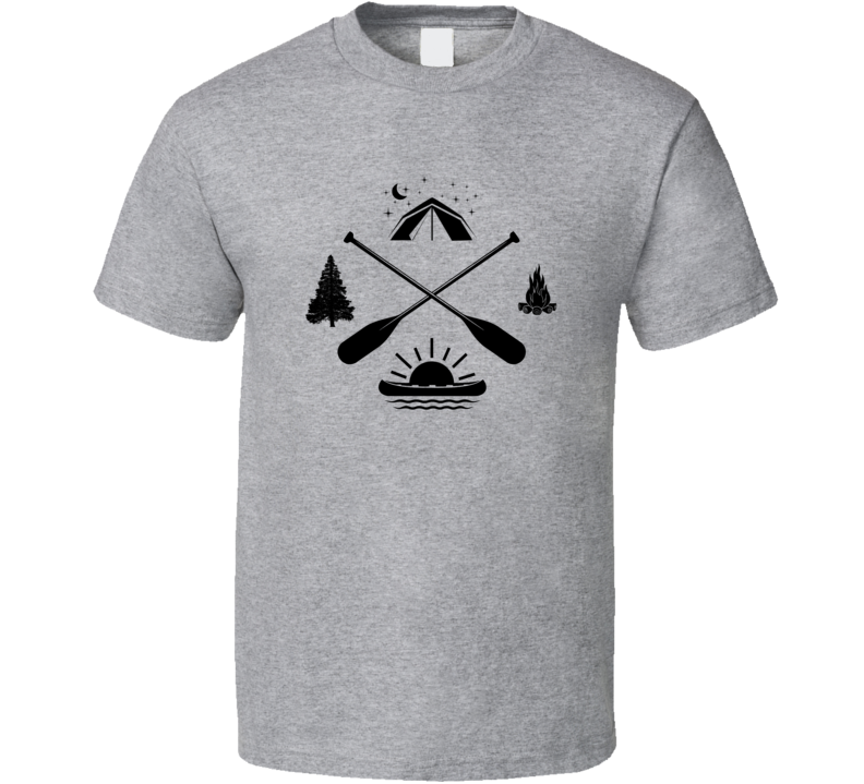 Camping Direction T Shirt