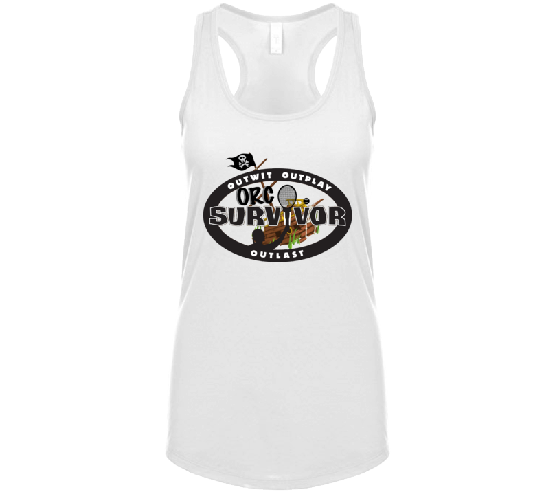 Orc Survivor Outwit Outplay Outlast Tanktop