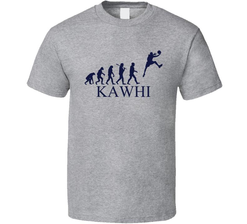 Kawhi The Evolution Of Man Basketball T Shirt
