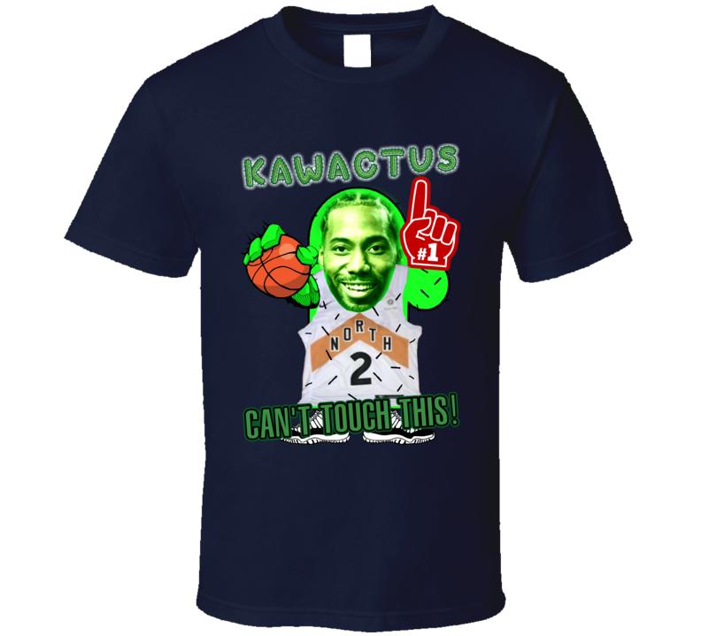 Kawactus Kawhi Leonard Raptors Plant Guy Meme T Shirt
