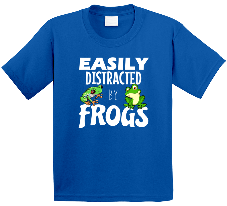 Easily Distracted By Frogs T Shirt
