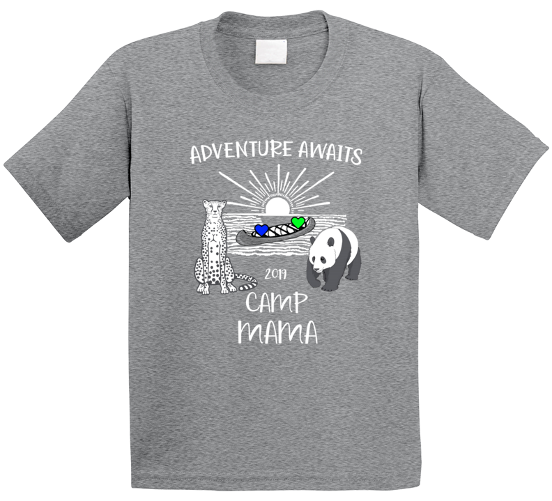 Camp Mama T Shirt