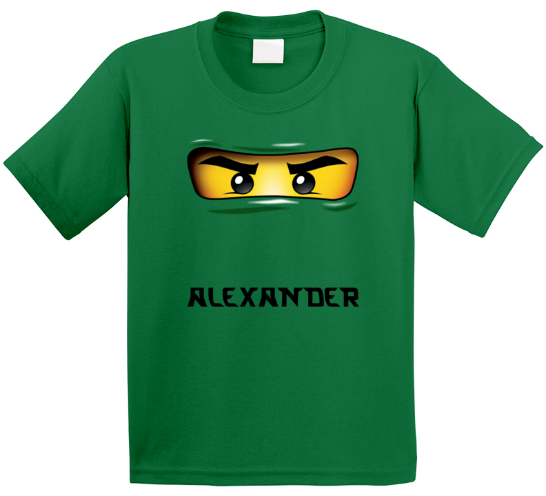 Lego Ninjago Lloyd (add Name) T Shirt