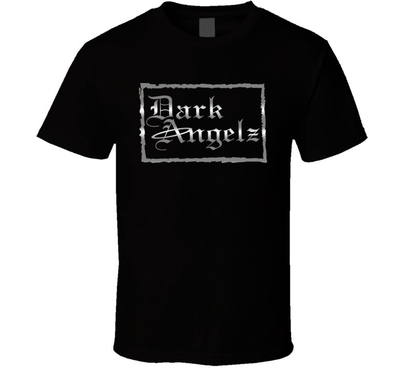 Dark Angelz (front) For Dark T Shirt