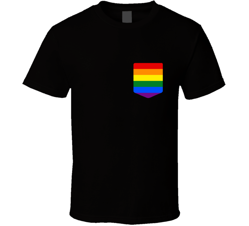 Pride Pocket T Shirt