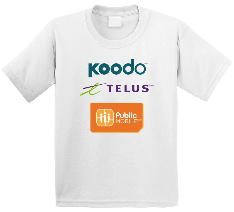 Koodo Telus Public Mobile Event T Shirt