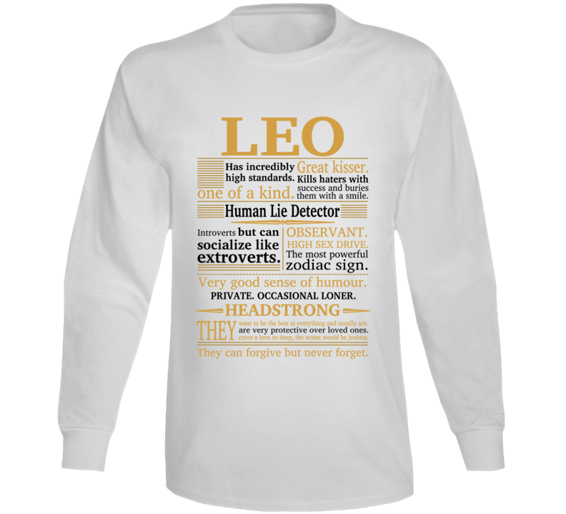 All About Leo Long Sleeve