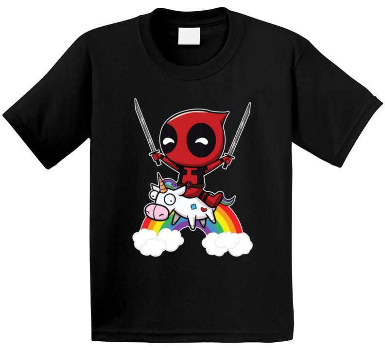Deadpool Unicorn T Shirt