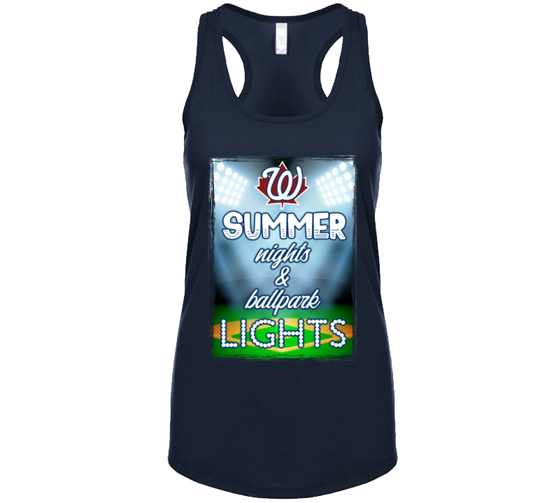 Summer Nights & Ballpark Lights Tanktop