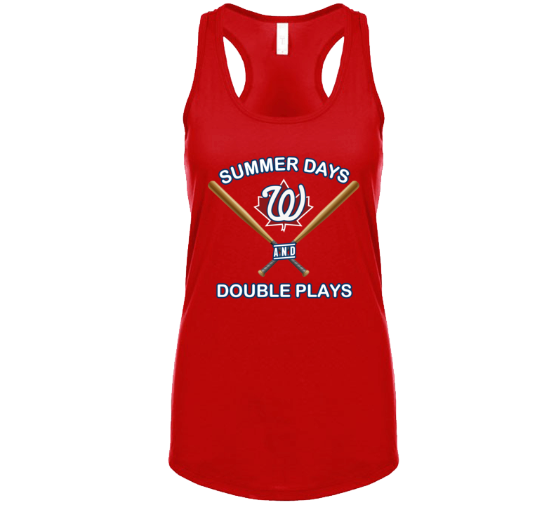 Summer Days And Double Plays Tanktop