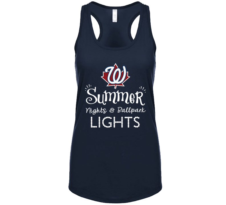 Summer Nights And Ballpark Lights Tanktop