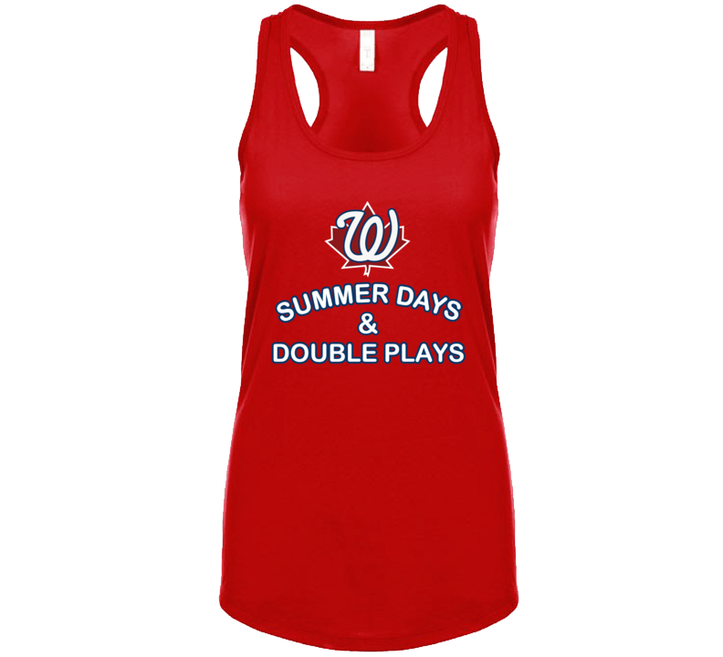 Summer Days & Double Plays Tanktop