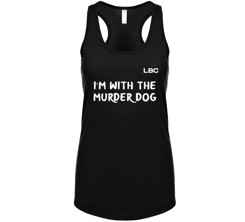 I'm With The Murder Dog Tanktop