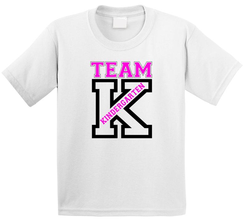 Team Kindergarten T Shirt