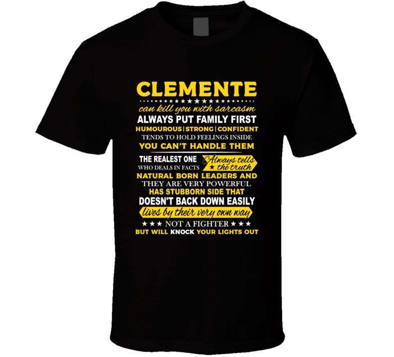 Clemente T Shirt