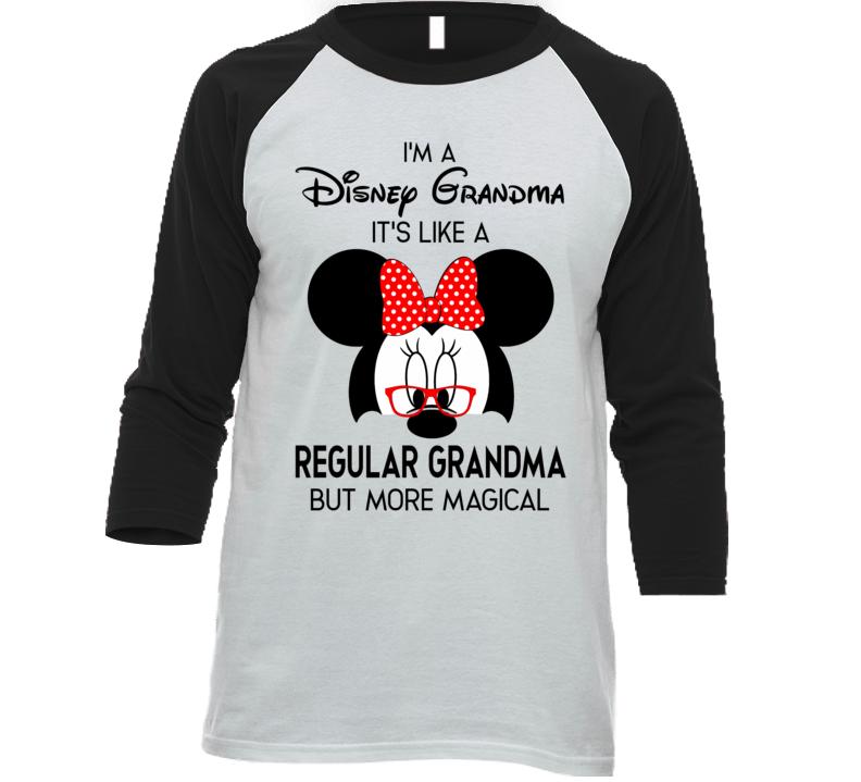 Disney Grandma, Not A Regular Grandma T Shirt