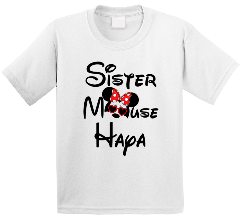 Disney Sister Mouse Haya T Shirt