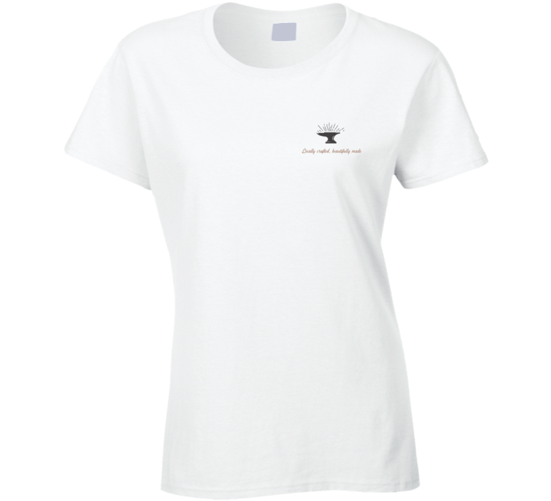The Maker's Hub Locally Crafted, Beautifully Made Ladies T Shirt