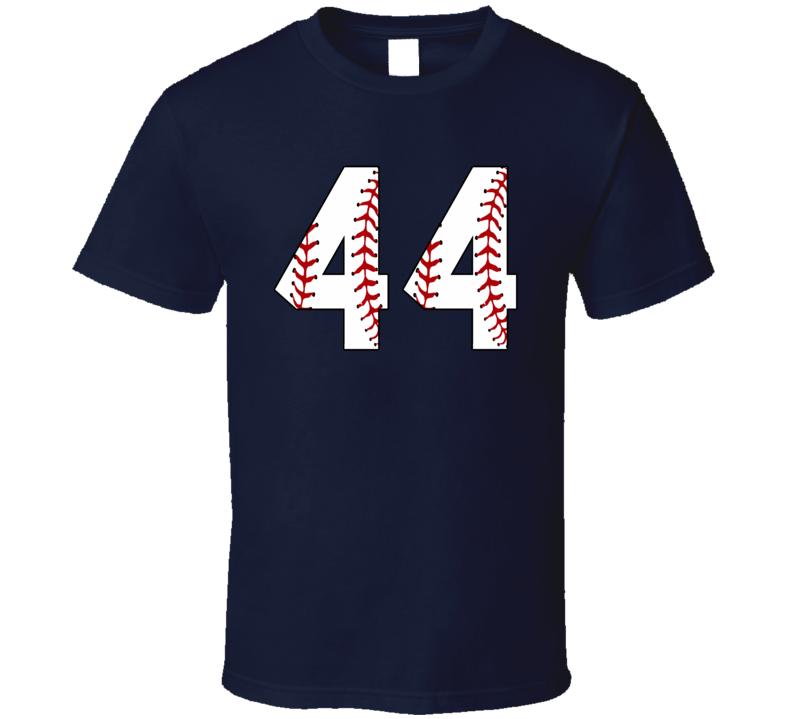 Baseball Jersey Number 44 T Shirt