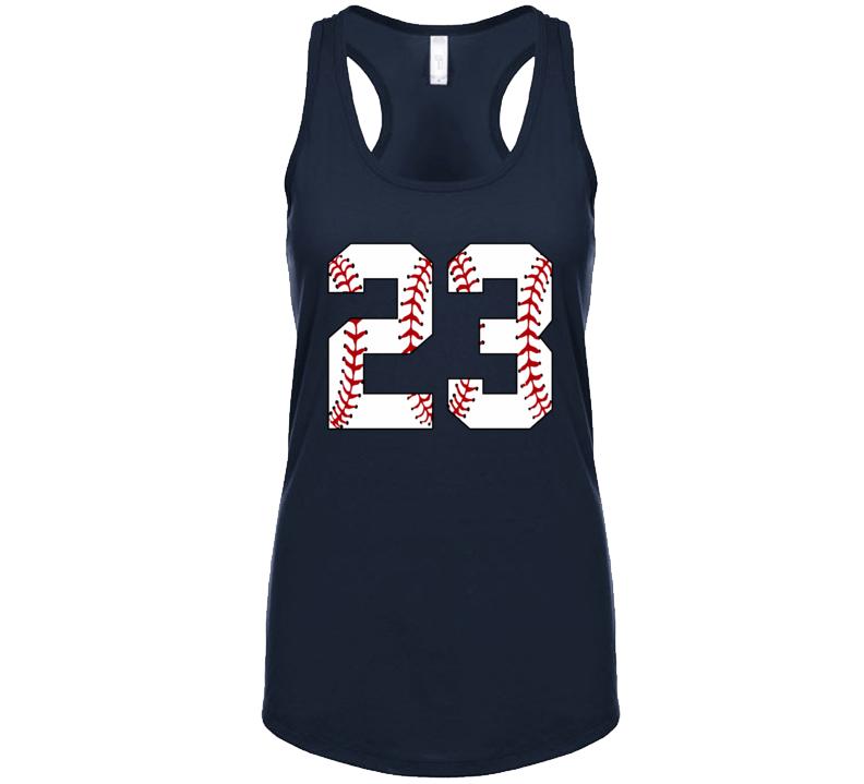 Baseball Jersey Number 23 Tanktop