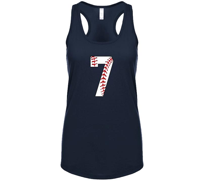 Baseball Jersey Number 7 Tanktop