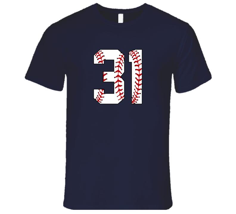 Baseball Jersey Number 31 T Shirt