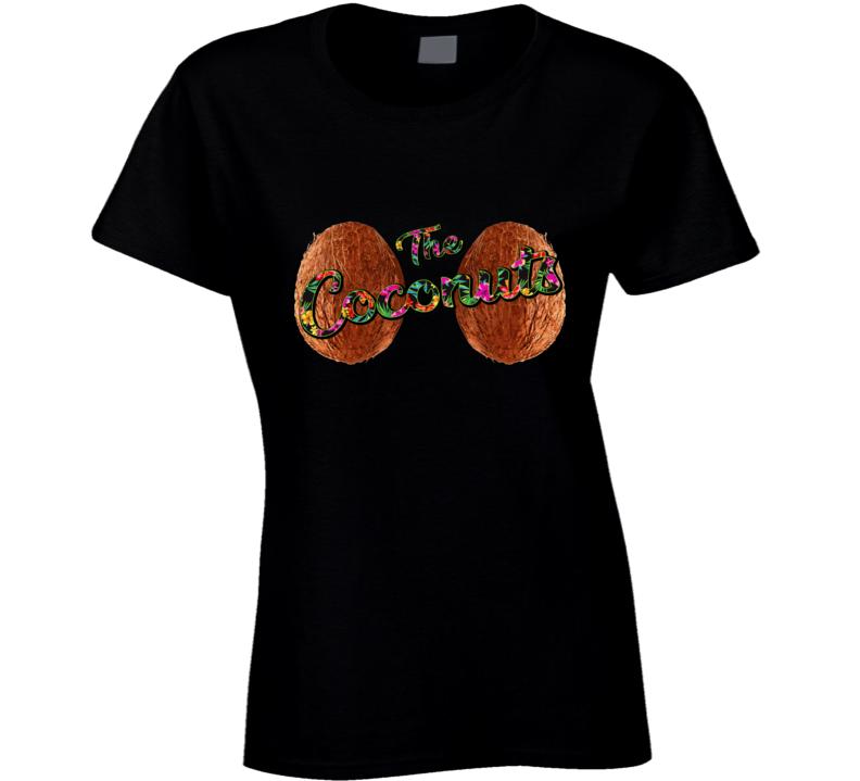 Mud Run - The Coconuts Ladies T Shirt