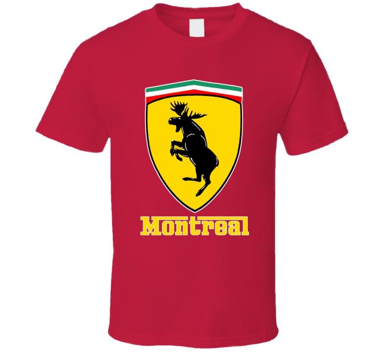 Montreal Moose Badge T Shirt