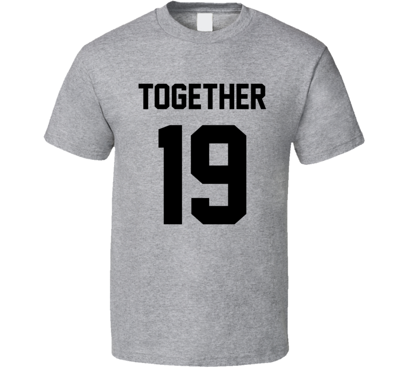 94 - Together Since Couple T Shirt